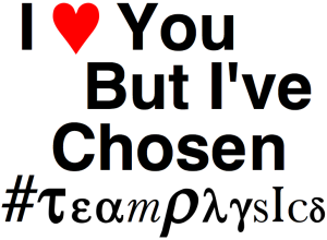 Chosen TeamPhysics Logo
